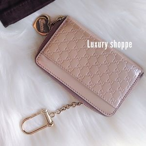 💕Authentic Baby Pink Gucci Key holder/wallet💕